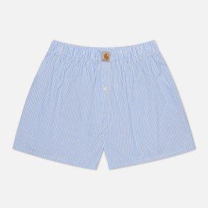 Мужские трусы Cotton Boxers Carhartt WIP. Цвет: голубой