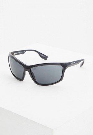 Очки солнцезащитные Burberry BE4297 300187. Цвет: черный