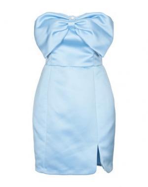 Короткое платье BETTY BLUE. Цвет: небесно-голубой