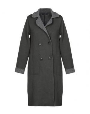 Пальто ALPHA STUDIO. Цвет: серый