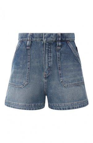 Джинсовые шорты Chloé. Цвет: голубой