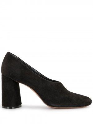 Туфли-лодочки на каблуке Céline Pre-Owned. Цвет: черный
