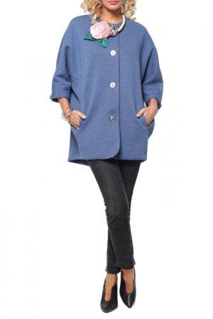 Пальто Kata Binska. Цвет: джинсовый