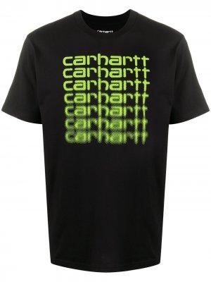 Футболка с логотипом Carhartt WIP. Цвет: черный