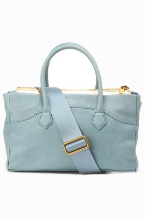 Шоппер LIEBESKIND BAGS&BELTS. Цвет: голубой