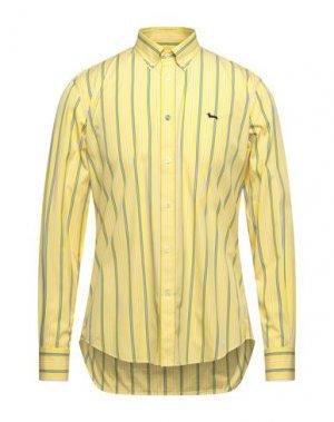 Pубашка HARMONT&BLAINE. Цвет: желтый