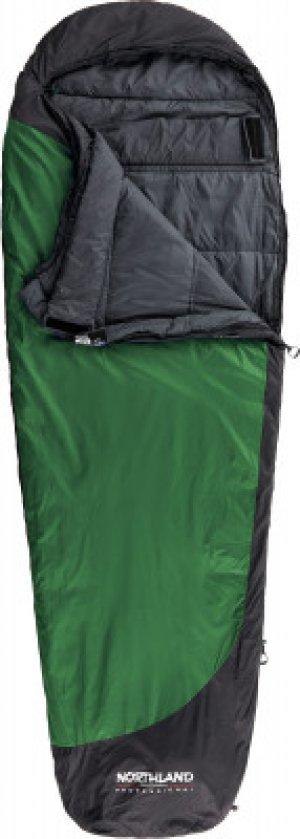 Спальный мешок Hypnos +10 L M-L Northland. Цвет: зеленый