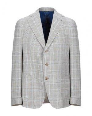 Пиджак GABO Napoli. Цвет: светло-серый