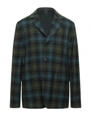 Пиджак ASPESI. Цвет: зеленый-милитари