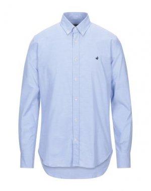 Pубашка BROOKSFIELD. Цвет: небесно-голубой
