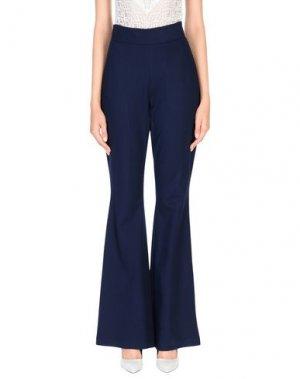 Повседневные брюки LORELLA SIGNORINO. Цвет: темно-синий