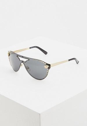 Очки солнцезащитные Versace VE2161 125287. Цвет: серый