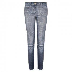 Кожаные брюки Jitrois. Цвет: синий
