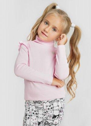 Свитер для девочек O`Stin. Цвет: жемчужно-розовый