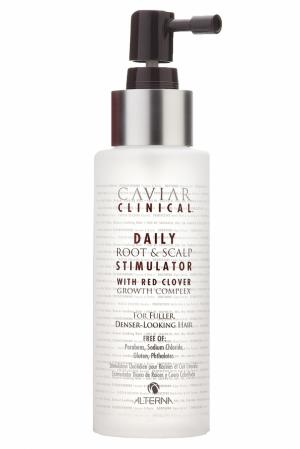 Спрей-активатор для роста волос Caviar Clinical Daily Root & Scalp Stimulator Alterna. Цвет: без цвета