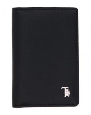 Чехол для документов TOD'S. Цвет: черный