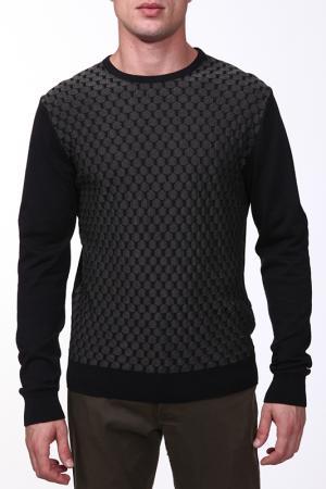Пуловер Corleone. Цвет: черный