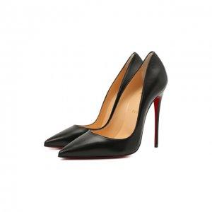 Кожаные туфли So Kate 120 Christian Louboutin. Цвет: чёрный