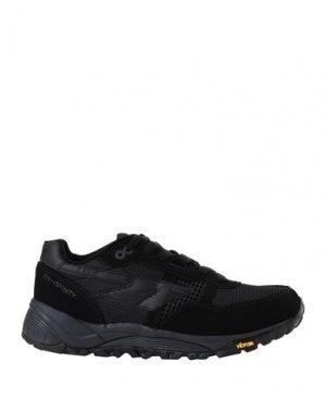 Низкие кеды и кроссовки HI-TEC. Цвет: черный