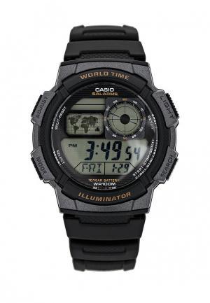 Часы Casio Collection AE-1000W-1A. Цвет: черный