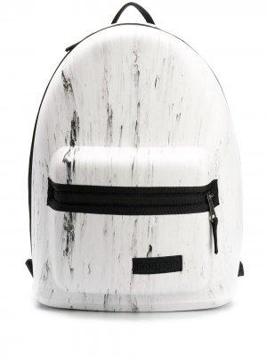 Каркасный рюкзак с принтом Eastpak. Цвет: белый