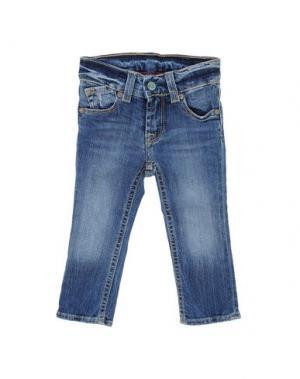 Джинсовые брюки JAPAN RAGS. Цвет: синий