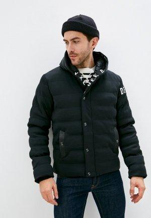Куртка утепленная Deeluxe. Цвет: черный