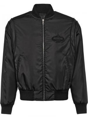 Куртка-бомбер с логотипом Prada