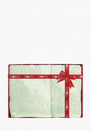 Набор полотенец Bonita. Цвет: зеленый