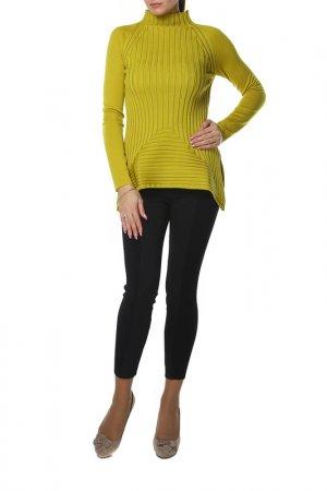 Пуловер SHES SO SHE'S. Цвет: желтый