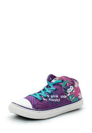 Кеды Hello Kitty. Цвет: фиолетовый