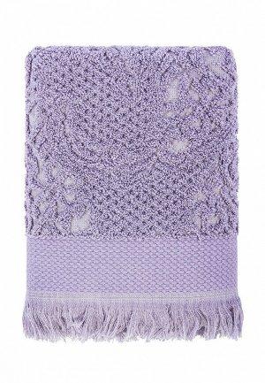 Полотенце Arya home collection Faralya. Цвет: фиолетовый