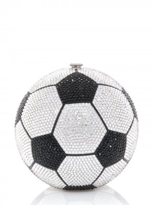 Soccer Ball spherical-shape clutch Judith Leiber. Цвет: multicolour