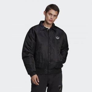Куртка-бомбер MA1 Originals adidas. Цвет: черный