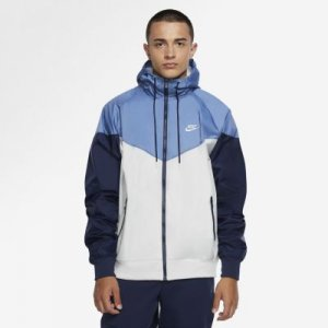 Ветровка с капюшоном Sportswear Windrunner - Серый Nike