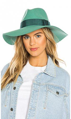 Шляпа piper Brixton. Цвет: зеленый