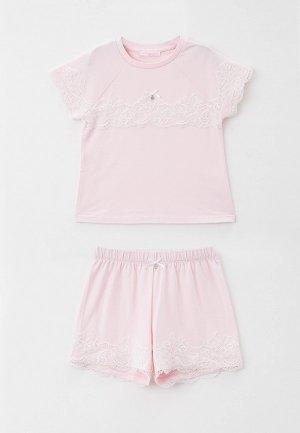 Пижама Choupette. Цвет: розовый
