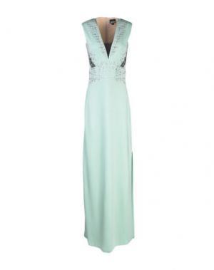 Длинное платье JUST CAVALLI. Цвет: светло-зеленый