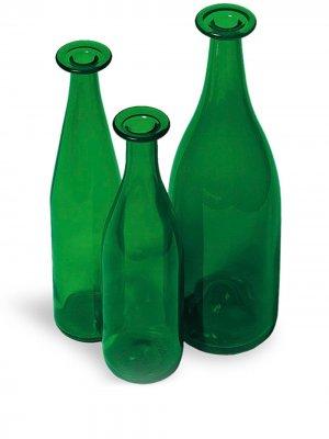Набор из трех бутылок Cappellini. Цвет: зеленый