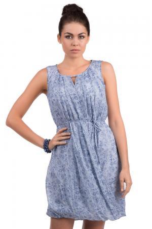 Короткое платье Tuzzi. Цвет: синий