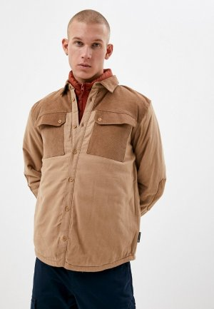 Куртка Outventure. Цвет: коричневый