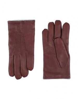 Перчатки ORCIANI. Цвет: какао