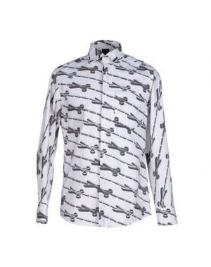 Pубашка BERNHARD WILLHELM. Цвет: белый