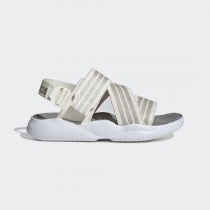 Сандалии 90s Performance adidas. Цвет: белый
