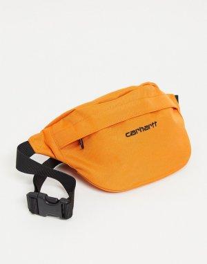 Оранжевая сумка-кошелек на пояс Payton Cordura-Оранжевый цвет Carhartt WIP