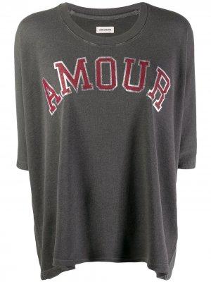 Пуловер Armour Zadig&Voltaire. Цвет: серый