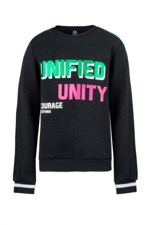 Пуловер STEFANIA. Цвет: черный