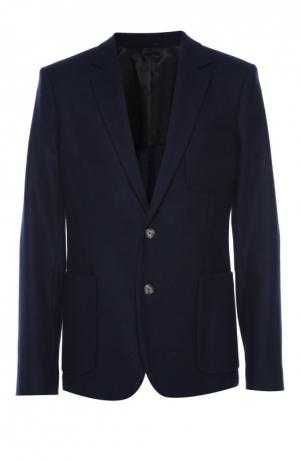 Пиджак Ami. Цвет: темно-синий