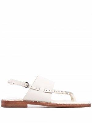 Medina leather sandals ASH. Цвет: белый
