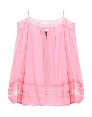Блузка ATOS LOMBARDINI. Цвет: розовый